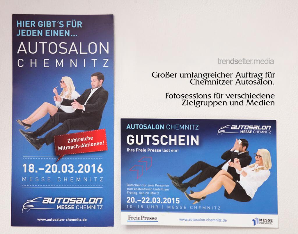 Fotosession für Autosalon Chemnitz von trendsetter.media