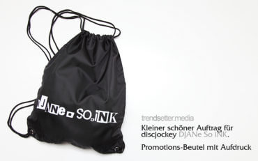 Promotionaktion für djane so ink. von trendsetter.media