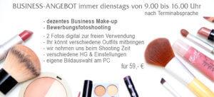 Bewerbungsfotoshooting inklusive Business Make-up vom trendsetter Fotostudio Chemnitz