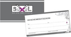 Design des Geschenkgutscheines für SuXul Friseure Bayreuth von trendsetter.media Chemnitz