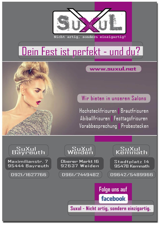 Erstellung von Anzeigen für SuXul aus Bayreuth, Weiden und Kemnath von trendsetter.media