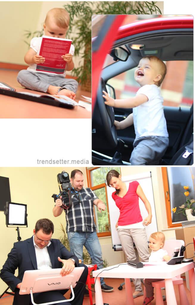 Impressionen eines Imagefotoshootings von trendsetter.media für das Unternehmen Steuerbüro Ines Scholz aus Zwickau bei Chemmitz