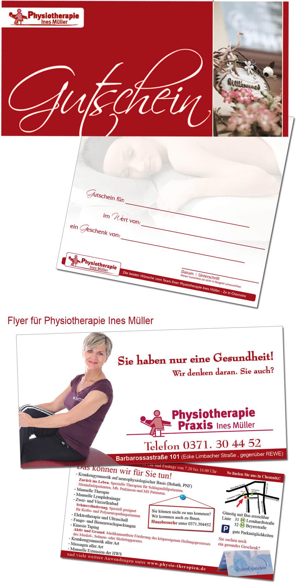 Erstellung und Druck von Gutscheinen, Visitenkarten, Flyer von trendsetter.media Chemnitz Sachsen