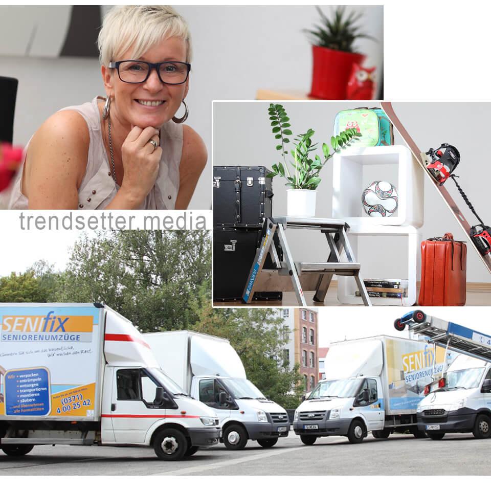 Imagefotos & Homepage für Senifix Seniorenumzüge