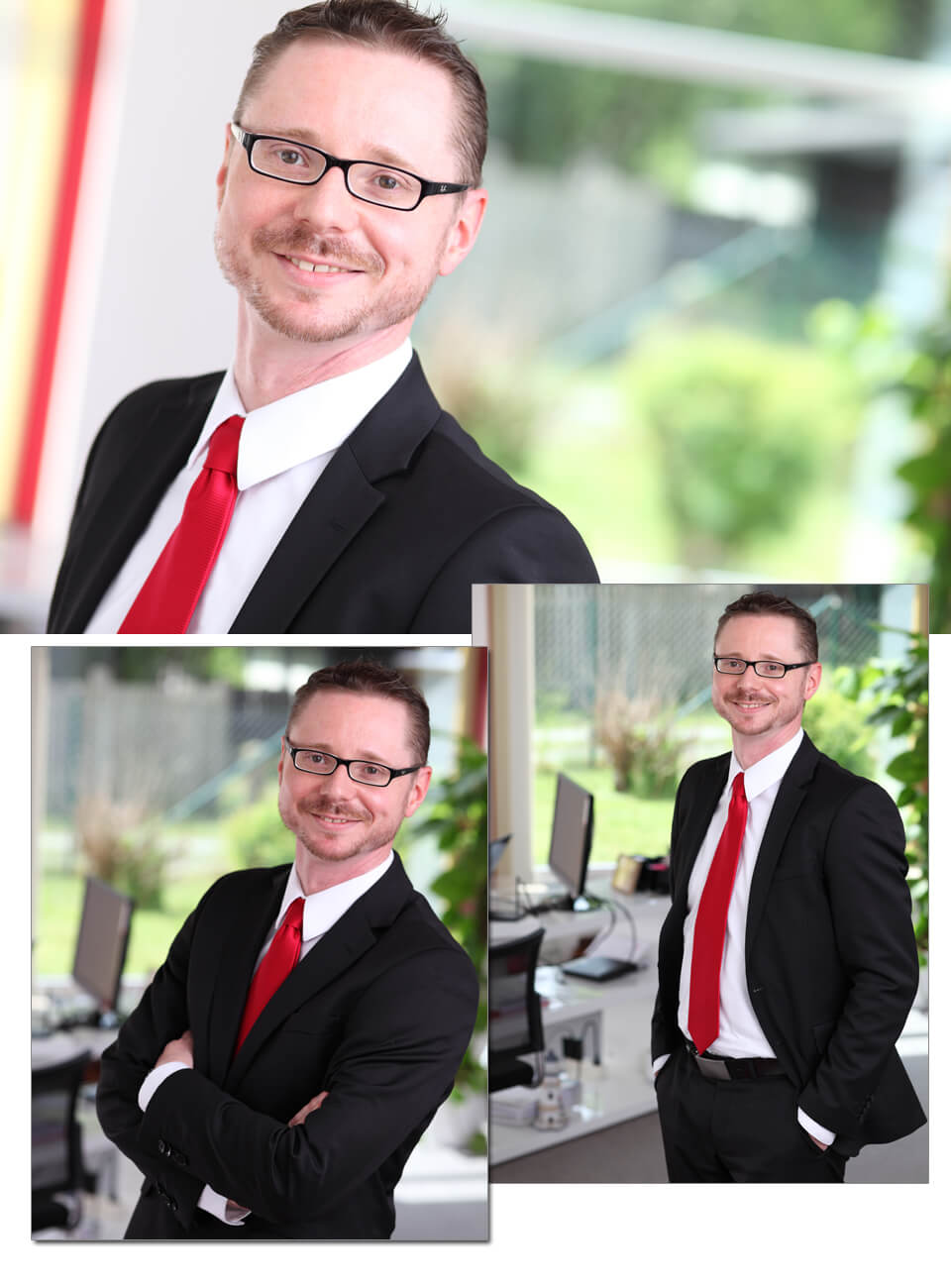 Imagefotoshooting in der ERGO Hauptagentur Andreas Lenk in Einsiedel bei Chemnitz von trendsetter media aus Chemnitz Sachsen