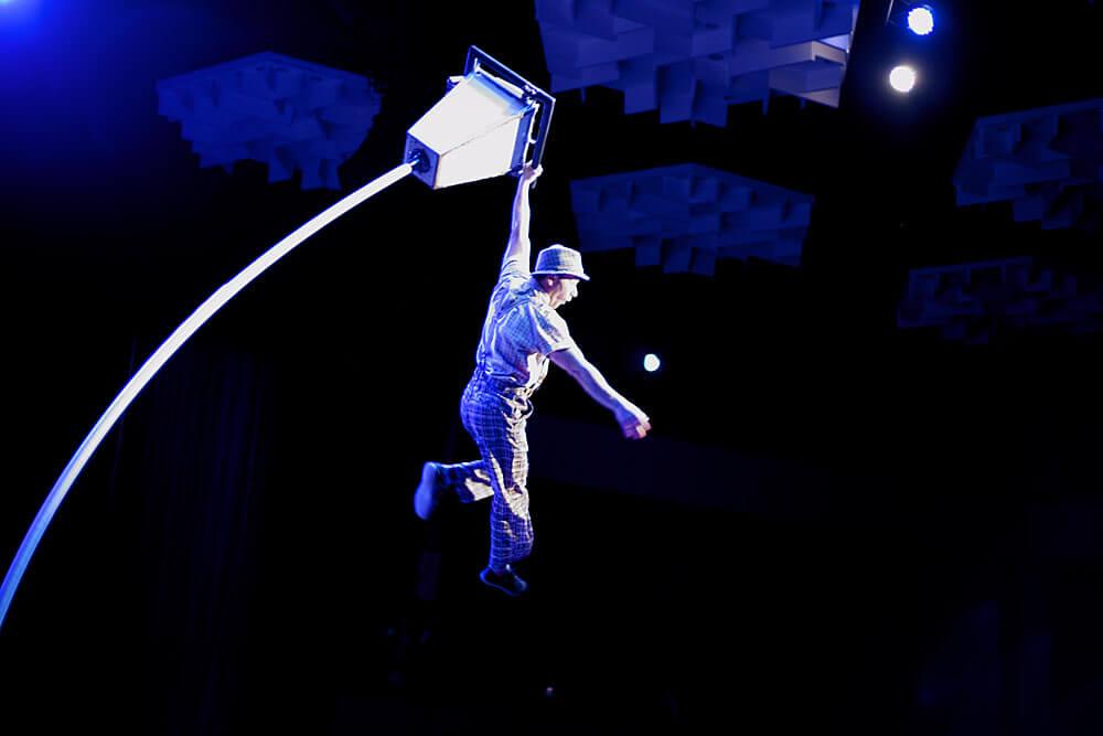 Eine fanstastische Bühnenshow beim BVMW Jahresempfang 2019 in der Chemnitzer Stadthalle