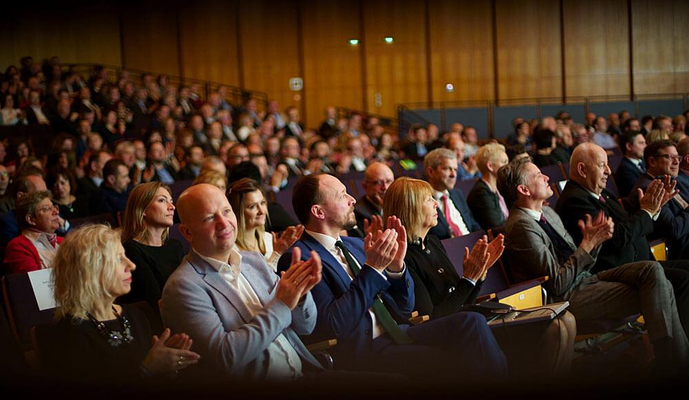 Erste Impressionen vom Neujahresempfangs 2019 des BVMW in der Stadthalle Chemnitz