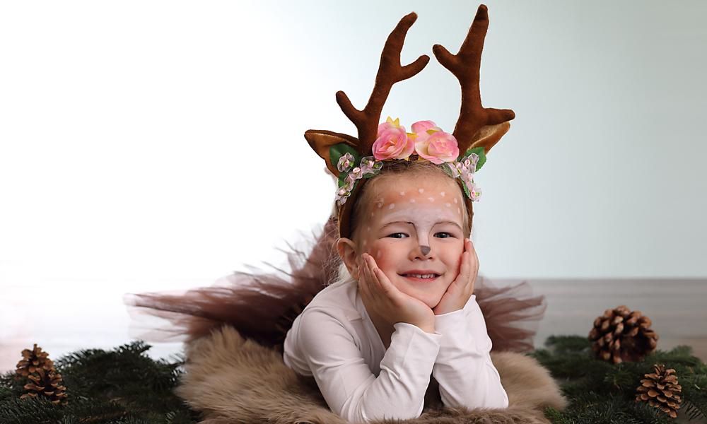 Ein Kindfoto zu Weihnachten ist immer das besondere Geschenk für Oma und Opa.